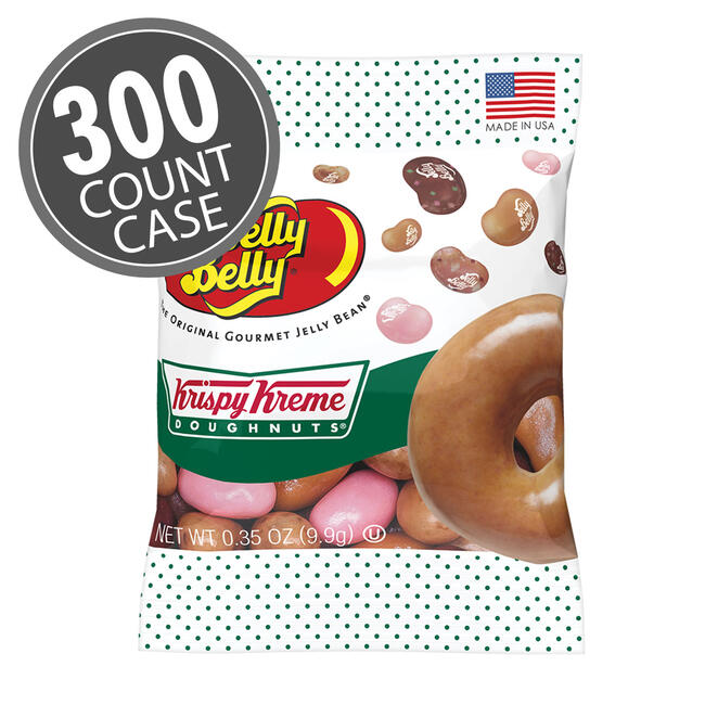 Krispy Kreme Doughnuts® Jelly Beans Mix 0.35 oz Sample Bags 300-Case