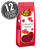 Red Raspberry Hearts - 5.5 oz Gift Bags - 12-Count Case-thumbnail-1