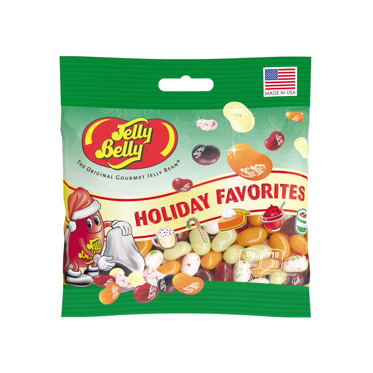 Holiday Favorites Jelly Bean 3.5 oz Gift Bag