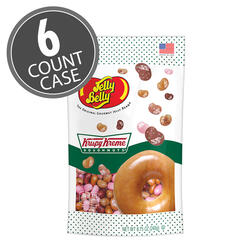 Krispy Kreme Doughnuts® Jelly Beans - 8.75 oz Pouch Bag, 6-Count Case