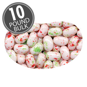 Candy Cane Jelly Belly - 10 lbs bulk