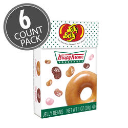 Krispy Kreme Doughnuts® Jelly Beans Mix 1.2 oz Flip Top Box, 6-Count Pack