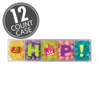 Jelly Belly 5-Flavor HOP Clear Gift Box - 4 oz - 12 Count Case