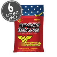 Jelly Belly Wonder Woman™ Sport Beans® Jelly Beans Assorted 6-Pack