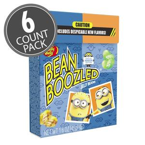 BeanBoozled Minion Edition 1.6 oz Flip Top Box, 6-Count Pack