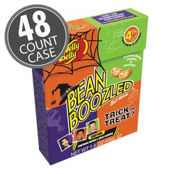 BeanBoozled Trick or Treat Jelly Beans 1.6 oz Flip Top Box (4th Edition), 48-Count Case