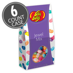 Jelly Belly Jewel Mix 4 oz Gable Top Gift Box 6-Count Case