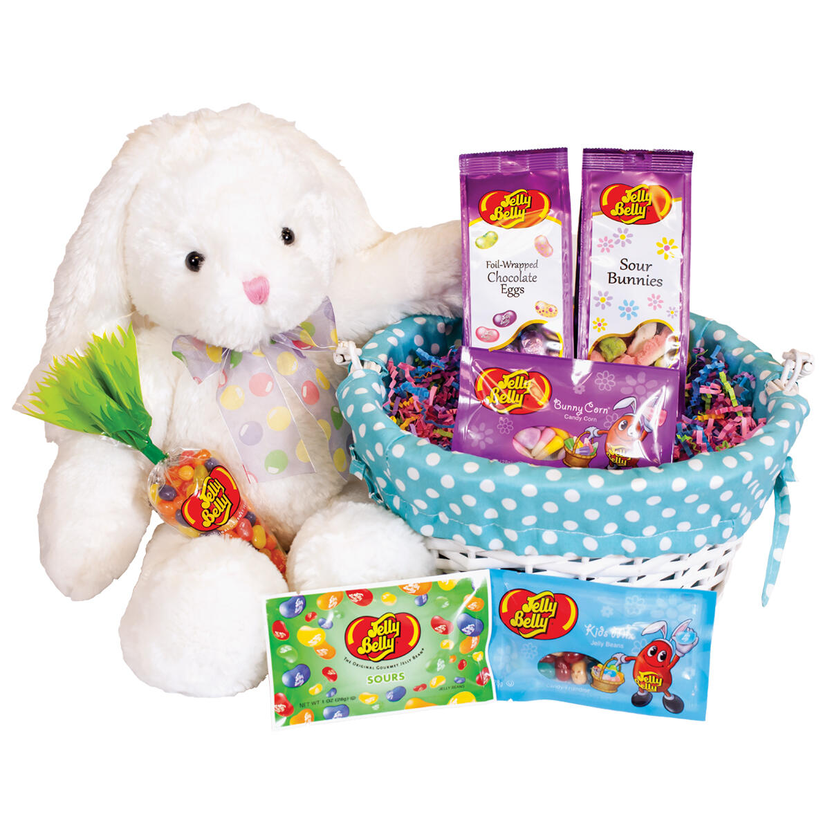 Springtime Sweets & Treats Easter Basket - Blue