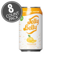 Jelly Belly Tangerine Sparkling Water - 8 Pack