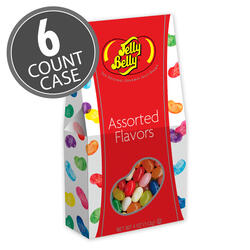 Jelly Belly Assorted 4 oz Gable Top Gift Box 6-Count Case