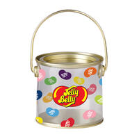 Jelly Belly Logo Clear Pail (Empty)