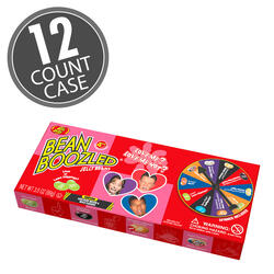 BeanBoozled Love Me or Not Jelly Beans 3.5 oz Spinner Gift Box (4th Edition), 12-Count Case