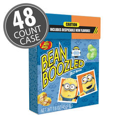 BeanBoozled Minion Edition 1.6 oz Flip Top Box, 48-Count Case