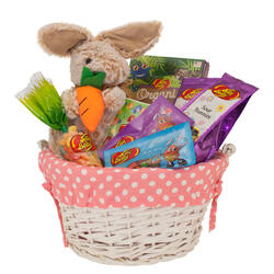 Springtime Sweets & Treats Easter Basket - Pink