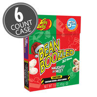 BeanBoozled Naughty or Nice Jelly Beans 1.6 oz Flip Top Box (5th Edition), 6-Count Pack