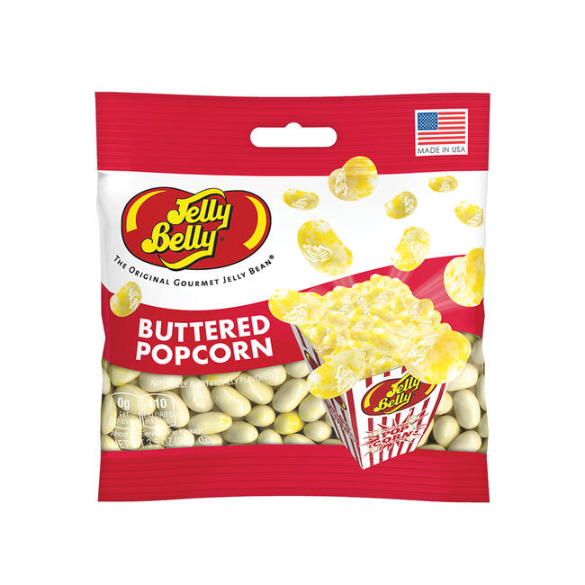 Buttered Popcorn Jelly Beans 3 5 Oz Grab Go Bag