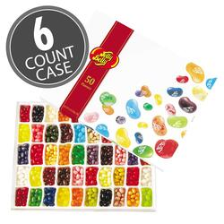 50-Flavor Jelly Bean Gift Box - 6-Count Case