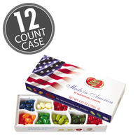 10 Flavor Jelly Bean Patriotic Gift Box - 12-Count Case