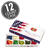 10 Flavor Jelly Bean Patriotic Gift Box - 12-Count Case-thumbnail-1