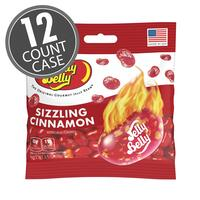 Sizzling Cinnamon Jelly Beans 3.5 oz Grab & Go® Bag - 12 Count Case