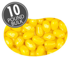 Jewel Sour Lemon Jelly Beans - 10 lb Bulk Case