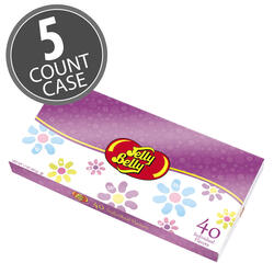 Jelly Belly Beananza 40-Flavor Gift box with Spring Sleeve - 5-Count Case