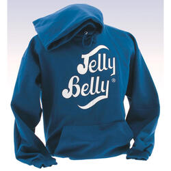 Jelly Belly Blue Hooded Sweatshirt – Adult Small