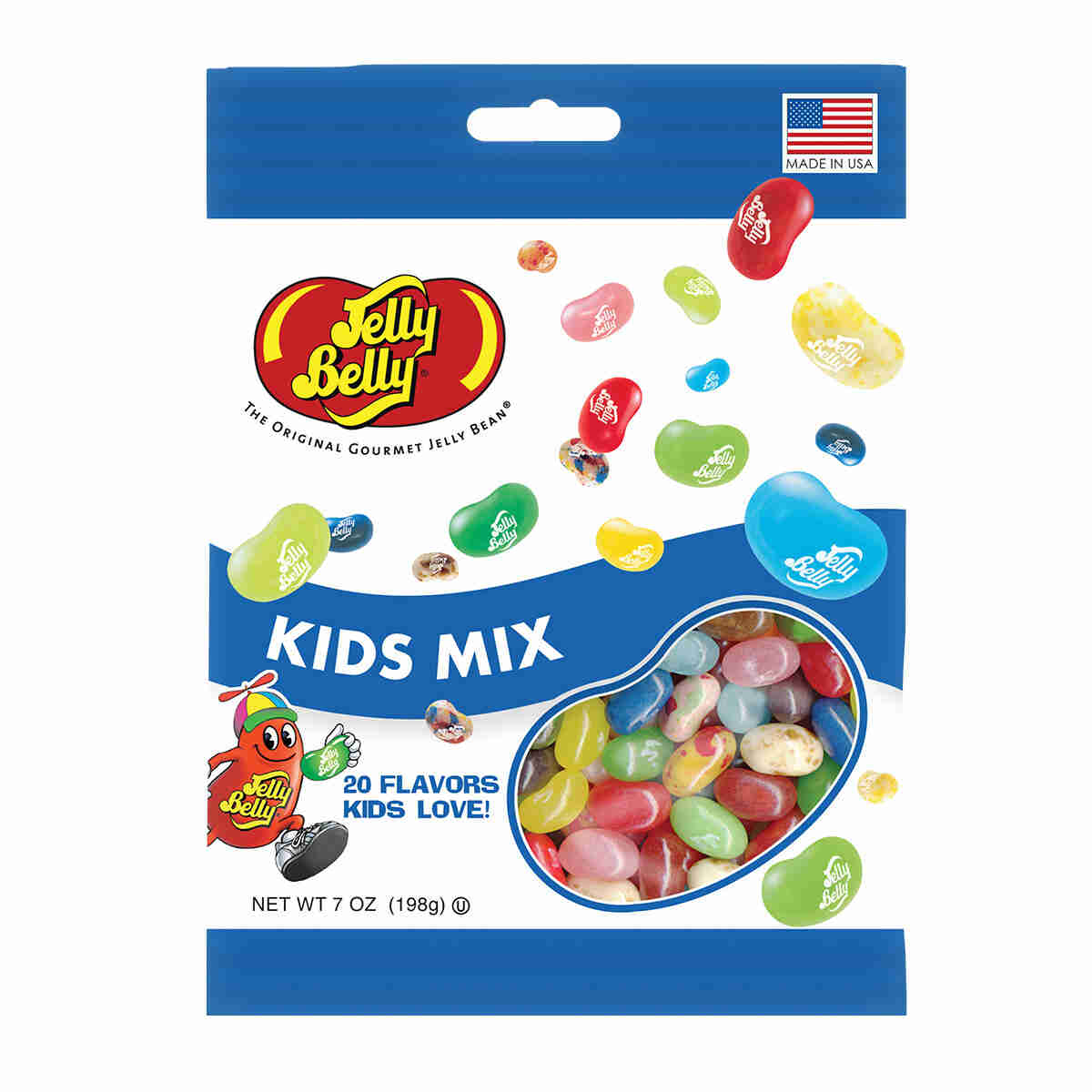 Kids Mix Jelly Beans - 7 oz Bag