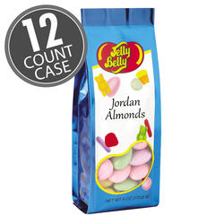 Assorted Jordan Almonds - 6 oz Gift Bags - 12-Count Case
