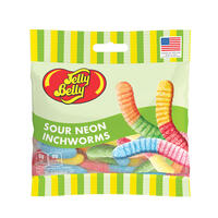 Sour Neon Inchworms 3 oz Grab & Go® Bag
