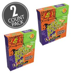 BeanBoozled Trick or Treat Jelly Beans 1.6 oz Flip Top Box (4th Edition), 2-Count Pack