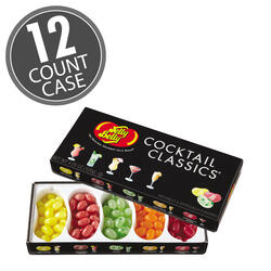 Cocktail Classics® 5-Flavor Jelly Bean Gift Box - 12-Count Case