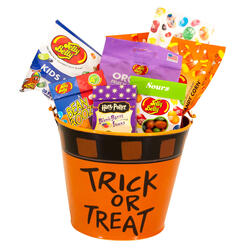 Trick-or-Treat Halloween Mini Bucket