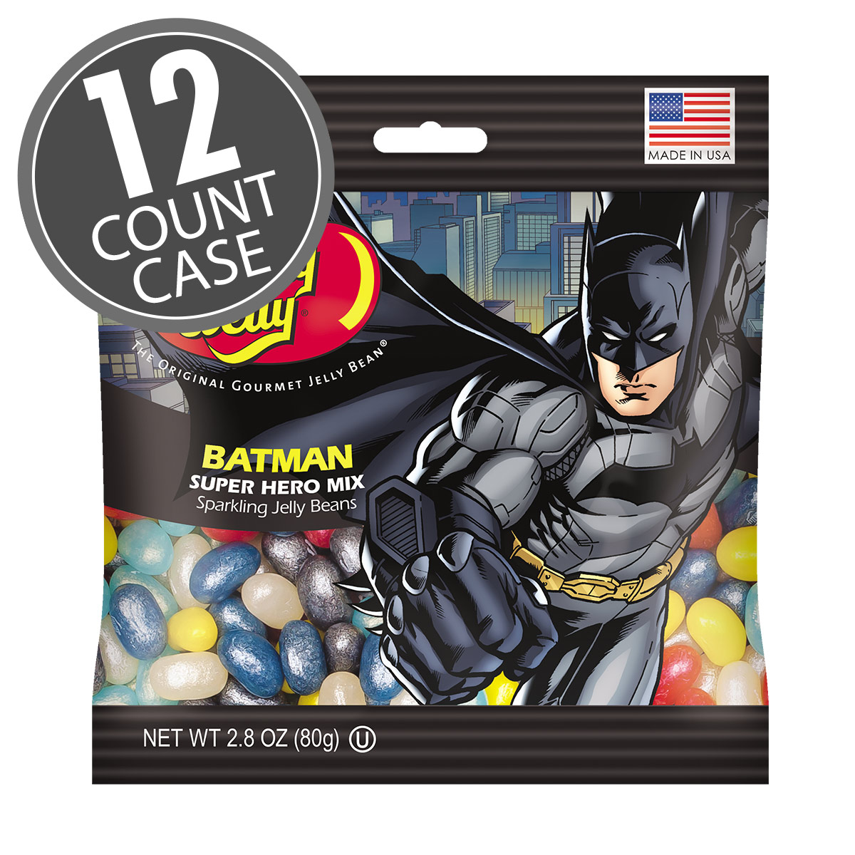 Batman™ Jelly Beans 2.8 oz Bag - 12-Count Case
