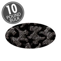 Scottie Dogs Black  Licorice 10 lb Case