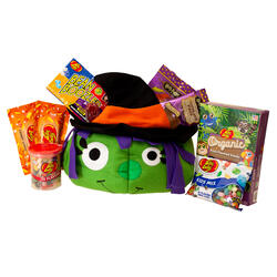 Whimsical Witch Halloween Gift Basket