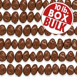 Milk Chocolate Jumbo Raisins - 10 lbs bulk