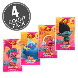 DreamWorks© Trolls Jelly Beans 1 oz Bag 4 Count Pack