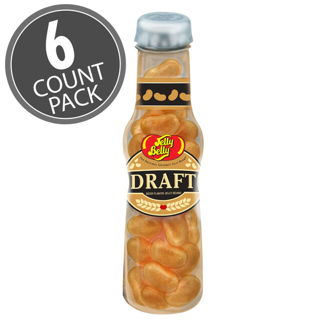 Draft Beer Jelly Beans 1.5 oz Bottle - 6 Count Pack