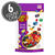 Fruit Bowl Mix Jelly Beans 9.8 oz Pouch Bag, 6-Count Case-thumbnail-1