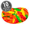 Jelly Belly Fish Chewy Candy - 10 lbs bulk