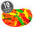 Jelly Belly Fish Chewy Candy - 10 lbs bulk-thumbnail-1
