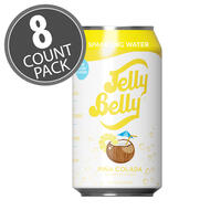 Jelly Belly Piña Colada Sparkling Water - 8 Pack