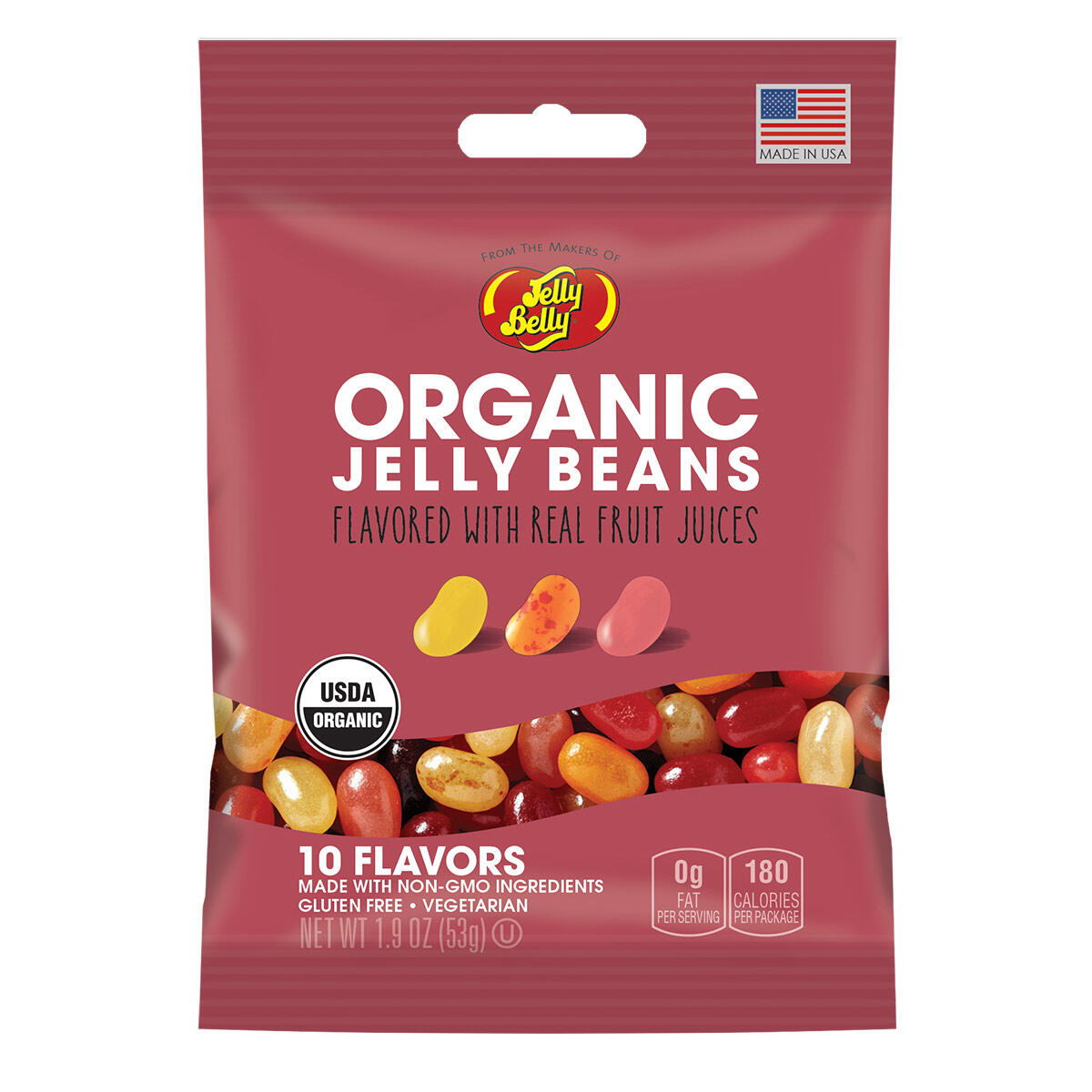 Organic Jelly Beans from the makers of Jelly Belly - 1.9 oz bag