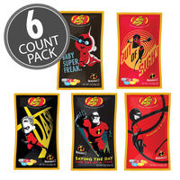 Disney©/PIXAR Incredibles 2 Jelly Belly 1 oz Bag, 6-Count Pack