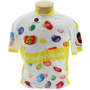 Jelly Belly Buttered Popcorn Cycling Jersey - Adult - Medium