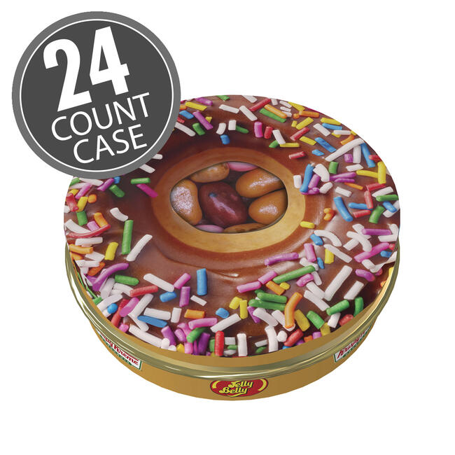 Krispy Kreme Doughnuts® Jelly Beans Mix 1 oz Tin, 24-Count Case