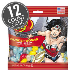 Wonder Woman™ Jelly Beans 2.8 oz Bag - 12-Count Case