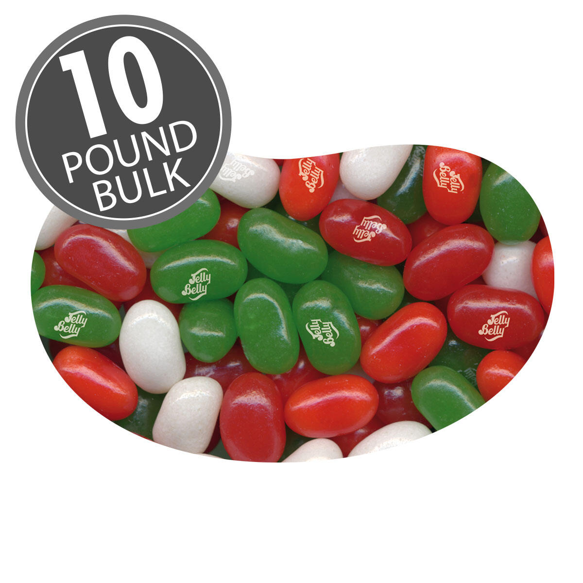 Jelly Belly Christmas Mix - 10 lbs bulk