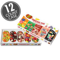 Fabulous Five® Jelly Bean Gift Box - 12-Count Case
